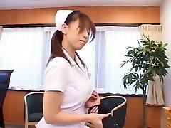 Best Japanese girl Karen Hasumi in Horny Nurse JAV video
