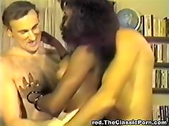 spanking amazing black girl between white rods