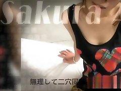 पागल जापानी सकुरा Aragaki में विदेशी हस्तमैथुन, JAV Uncensored JAV क्लिप
