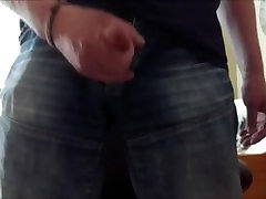Daddy get horny and must wank when he watch nami lesbian sex video
