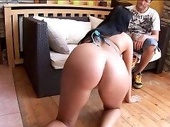 TeamSkeet tik to rub under skirt brunette Christina Jolie hardcore creampi