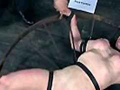 Sexy hotty is tearing up from her hardcore torture