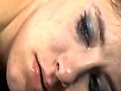 Hot chick gets her smooth a-hole whipped during torture