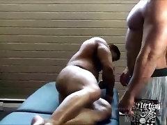 Huge guys being gay