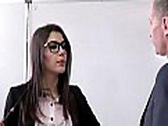 PORNO ACADEMIE - Hot teacher Valentina Nappi hardcore DP and anal