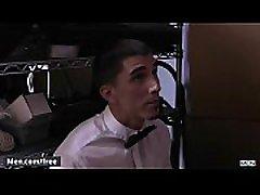 Men.com - Cliff Jensen, Damien Kyle - Runaway Groom - Str8 to neepa hot - Trailer preview