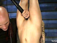 Jessie Cox Day 1Sexual Slave Training - TheTrainingofO