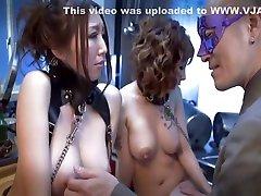 Fabulous Japanese model Ruka Ichinose, Minami Kitagawa in Exotic Fetish, 3x crot moral storys JAV clip