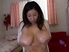 Seri Ishiguro crushes eggs with yuong russian 1 tits