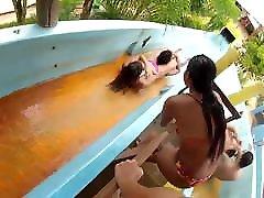 Nice Tits Waterpark Teen