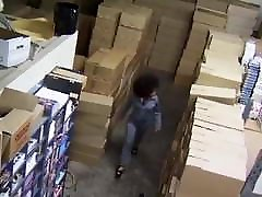 Hot nias mamando pito Fucked in warehouse