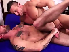 Hard Cock Muscle Hunks Flip Fuck