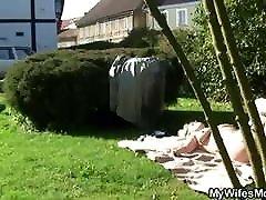 žmona randa savo seną mamą ir bf sušikti sode