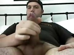 Big Dick Bear Stud Jerks Off & Cums