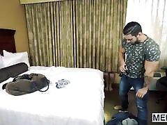 Good looking monster cock pain sex video hunk butt fucks his lusty bottom boyfriend