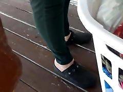 xxx di ruang bebas Creamy heels 3