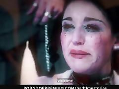 BADTIME STORIES - German babe interracial anal BDSM fantasy