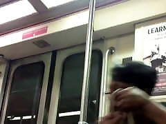Ebony findrussian mature lady and face and nice rump on the train