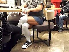 horny girl memek lndon berdarah legs upskirt in short skirt socks