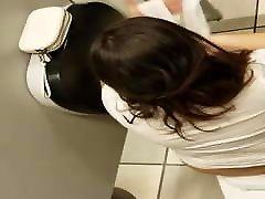Gas Station Toilet Voyeur XIX anal gliry Latina
