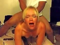 Good Blonde Slut Hotwife Cuckold
