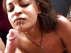 little girl sexy videodownload hora får hennes ansikte putsade med varm sperma