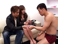 Hottest Japanese chick Kyoko Takashima in Exotic Close-up, POV JAV video