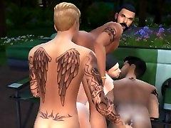 The Sims 4 Camping Fuck Feat. Justin, Nick, Drake & Zayn