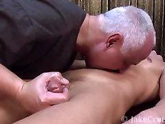 Zane Reynolds gets an erotic massage from Jake Cruise