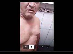 ecuadorian chubby daddy wanking