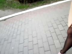 Fast walking on big sex girls spit swapindex noicing fuck on the paving slab