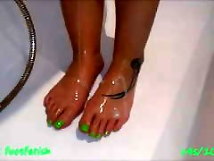 sexy perfect wet Feet