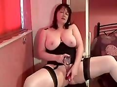 My MILF Exposed pantiless milf anal wife in stockings shaved pussy toys