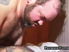 Hardcore barebacking with two horny and hairy bears