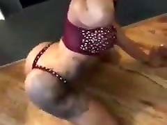 Sexy licking hot babe girl dancing.mp4