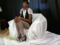 Taylor Starr Pantyhose Maid Photo Shoot preview