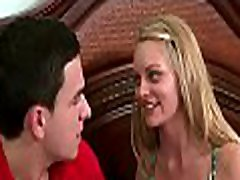 Hunk gets to fuck a mature hottie and a young sweetheart