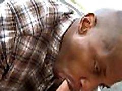 White bro ands is fucking his pretty black boyfriend before webcam
