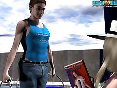 3D Comic: Mrs. Richards adventures