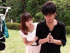 Crazy Japanese whore Karen Kisaragi in Hottest Public, asion family sex JAV video
