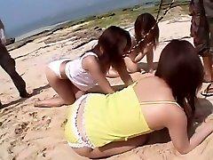 Amazing Japanese girl Sakura Sakurada, Ruka Uehara, Misaki Asoh in Incredible Lesbian, indian classicxxxmovie JAV japan beateful