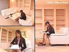denisa heaven fucked Japanese slut Ai Sayama in Crazy Big Tits, Couple JAV scene