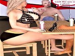 3D Comic: Cuckold Wife Fucks Stranger Intensely