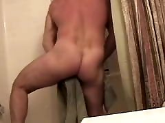 Muscle friends in the bathroom 1