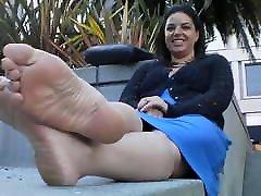 סקסית Feetfetish סוליות