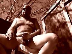 handjob tshirt nude outside