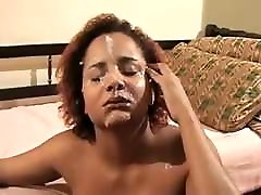 Brazilian Facial - Amateur Adriele on a Casting