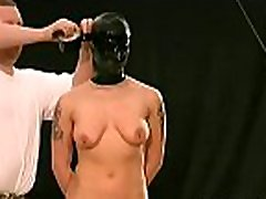 Obedient doxy craves breast bondage stimulation on cam