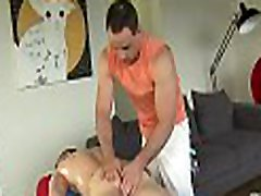 Sexy hunk gets a deep rimming from brazzers girl fucking in shower masseur