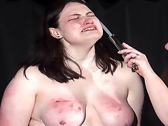 Brutal green hair girls bdsm and extreme spanking a bbw amateur slave